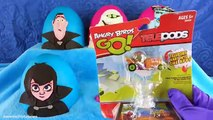 Hotel Transylvania 2 Movie Play-Doh Surprise Eggs Lollipops and Cakepops Series