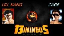 Mortal Kombat Liu Kang VS Cage