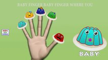 Dedo de la colección de la familia | Gummy Bear Vs Jelly Dedo de la Familia de canciones infantiles Canciones