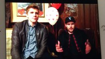 Ryan hawley & Danny Miller on stv 2017 #robron no copyright