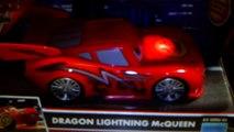 Cars Toons Dragon Lightning McQueen Lights & Sounds Tokyo Mater Light Up Disney Pixar car