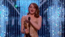 Oscars - Le discours d'Emma Stone, meilleure actrice