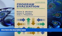 READ book Program Evaluation: Alternative Approaches and Practical Guidelines (2nd Edition) Blaine