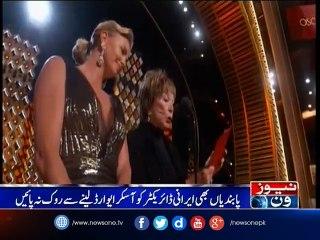 Iran's 'The Salesman' wins Oscar as Farhadi boycotts