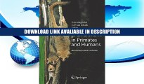 eBook Free Cooperation in Primates and Humans: Mechanisms and Evolution Free Online