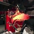 Figurine de cheval en verre soufflé réalisé en quelques secondes !