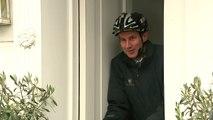 Health Secretary Jeremy Hunt gets doorstepped