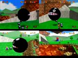 "speedruns.topictra.com's Mario 64 ""16 Stars"" Speedrun Comparison (Remade by MarioFeather128)"