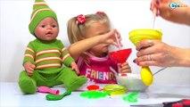 ✔ Кукла Беби Борн. Капитошка из воздушных шаров от Ярославы / Doll Baby Born with Yaroslava Balloons