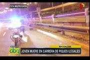 Magdalena: joven muere en supuesta carrera de piques ilegales