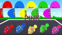 Colors for Children to Learn with Color Nemo Cartoons, Learn Colours with Nemo Surprise Eggs