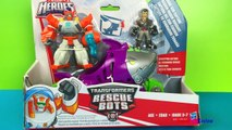 Transformers Rescue Bots Shark Sub Capture with Paw Patrol Rocky and Masha and the Bear