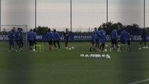 Foot - L1 - Bastia : Rui Almeida a dirigé sa première séance d'entraînement