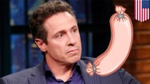 CNN's Chris Cuomo has Twitter meltdown over some sausage