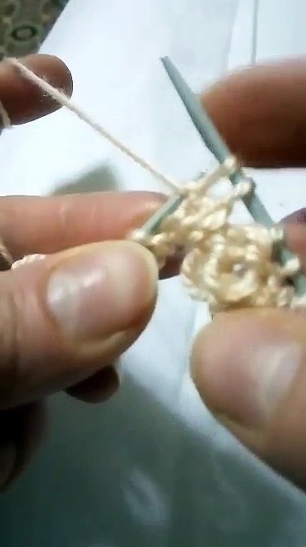 Dalgalı Örgü Modeli Yapımı