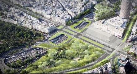 L'aménagement de la place Maillot de 1765 à demain