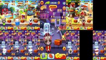 Talking Tom Gold Run - All 13 Characters Included a Premium Character King Tom