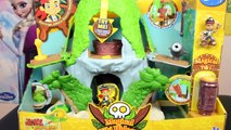 Fisher-Price Disneys Jake and The Never Land Pirates Jakes Magical Tiki Hideout Playset
