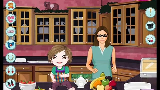 Baby Cooking School Role Playing Brain Games Videos games for Kids - Girls - Baby Android