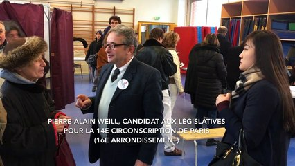 Primaires Citoyennes 2e tour - J'ai voté à Maginot, Paris 16