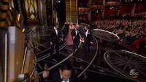 Jennifer Aniston Gets Choked Up Introducing Sara Bareilles' In Memoriam Performance At The 2017 Oscars