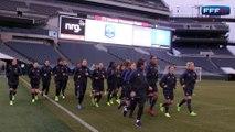 She Believes Cup : premier entraînement des Bleues à Philadelphie