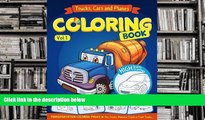 Audiobook  Trucks, Planes and Cars Coloring Book: Cars coloring books for kids (Transportation