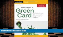PDF [FREE] DOWNLOAD  How to Get a Green Card Ilona Bray JD [DOWNLOAD] ONLINE