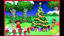 Dora the Explorer Gameisodes for Children Games - Dora Games in English (Dora Babysits, Dora Xmas)