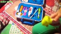 Đồ chơi bác sĩ cho bé - Bé tập làm bác sĩ