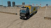 Euro Truck Simulator 2 Gameplay #17 Empty Palattes Transport to Birmingham Volvo FH16 Truck