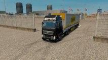 Euro Truck Simulator 2 Gameplay #17 Empty Palattes Transport to Birmingham Volvo FH16 Truck