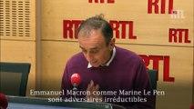 """Éric Zemmour : """"Le Pen et Macron rêvent de s'affronter au second tour de la présidentielle"""""""