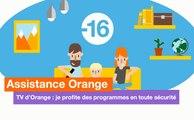 Assistance Orange - TV d'Orange et le contrôle parental