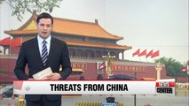 Chinese media reacts angrily to S. Korea's plan to deploy THAAD