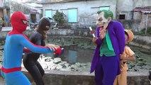 Police Spiderman ARREST Hulk & Bad Baby! w/ Toys Car Moto Farting Movie Paw Patrol Chase R