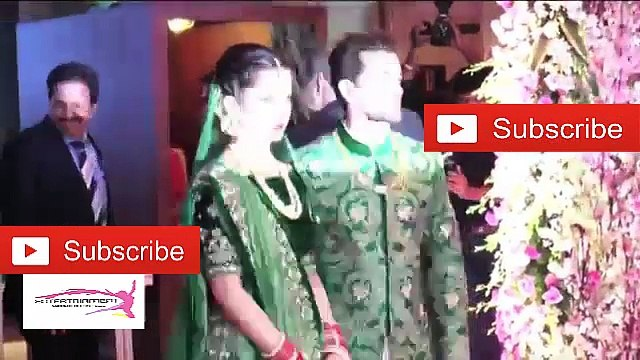 Neil Nitin Mukesh Beautiful Wife Rukmini Sahay Big Reception