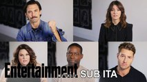 'This Is Us' Cast Apologizes For Making You Cry in Exclusive PSA   Entertainment Weekly - SUB ITA