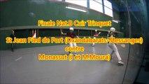 Finale Nat.B Cuir Trinquet - St Jean Pied de Port (Oxandabarats-Messanges) contre Monassut (J et M.Moura)