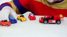Çocuklar için eğlenceli film - Palyaço Dima - Araba yarışı