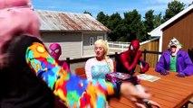 Человек-паук замороженные Эльза замороженные Анна и Человек-паук против Джокера и Веном – забавный супергерой в реальной ли
