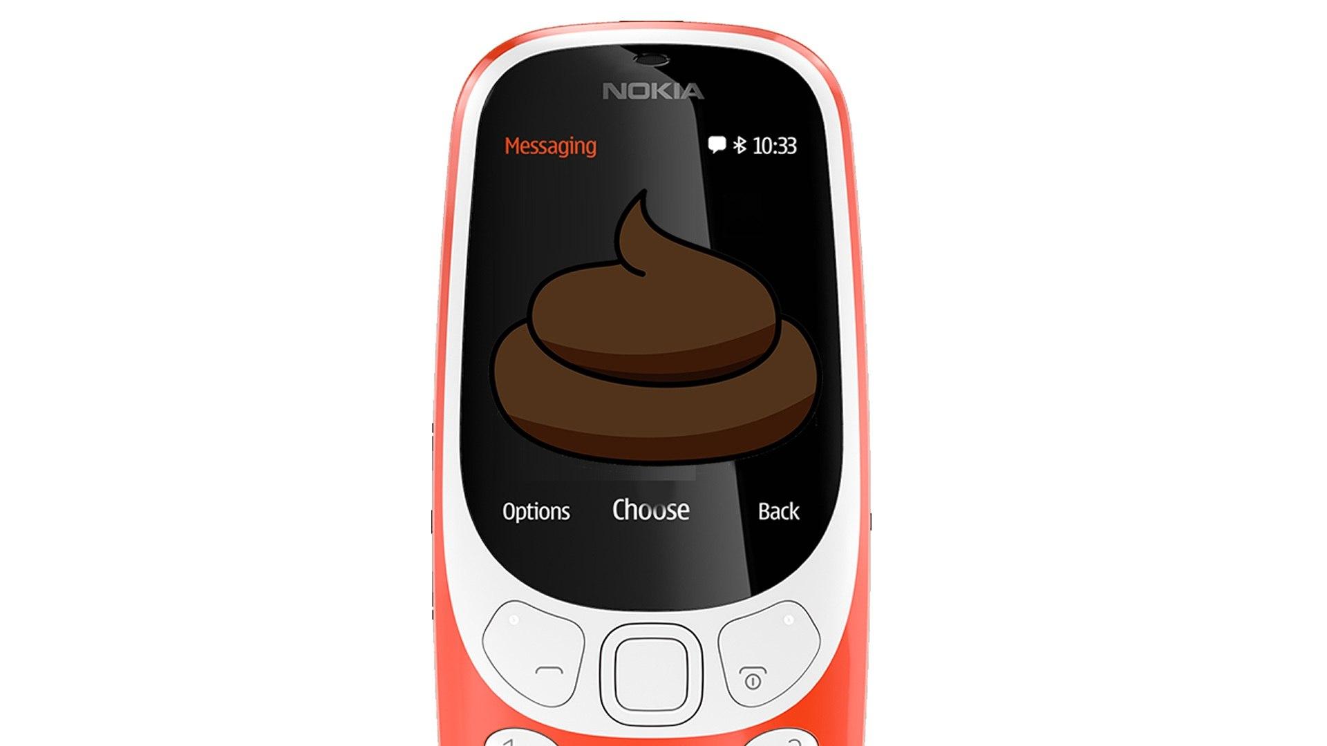 O Novo Nokia 3310 é uma bosta!