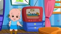 Детские песни | пять маленьких обезьян прыжки на кровати детский стишки стишки | 3D и английский для детей