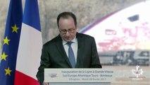 Des coups de feu entendus pendant un discours de François Hollande