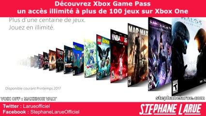 Découvrez Xbox Game Pass : un accès illimité à plus de 100 jeux sur Xbox One