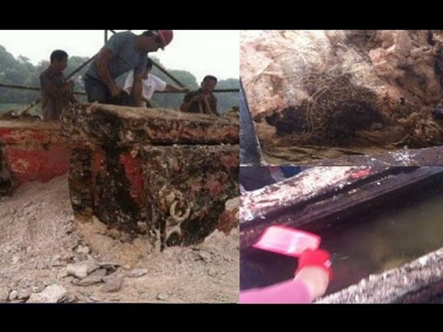 Kinh hoàng khi bật nắp quan tài cô gái bị chôn sống cùng chàng trai đã phát hiện thứ này!   Godialy.com