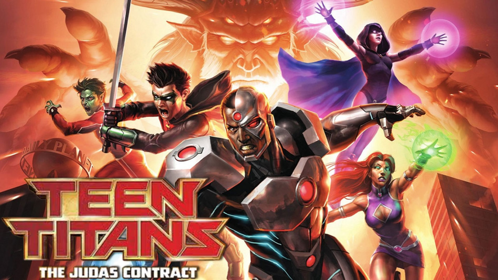 Teen Titans Judas Contract Video Dailymotion
