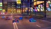 Lightning McQueen and Disney Cars Mater, Francesco Bernoulli, Holley Shiftwell | Nursery Rhymes