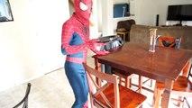 Spiderman vs Zombie Spiderman   Orbeez Bath Time SuperHero fun in Real life! :)