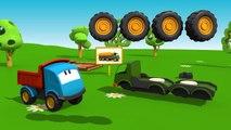 Meraklı kamyon Leo ve yakıt kamyonu - eğitici çizgi film - Türkçe izle